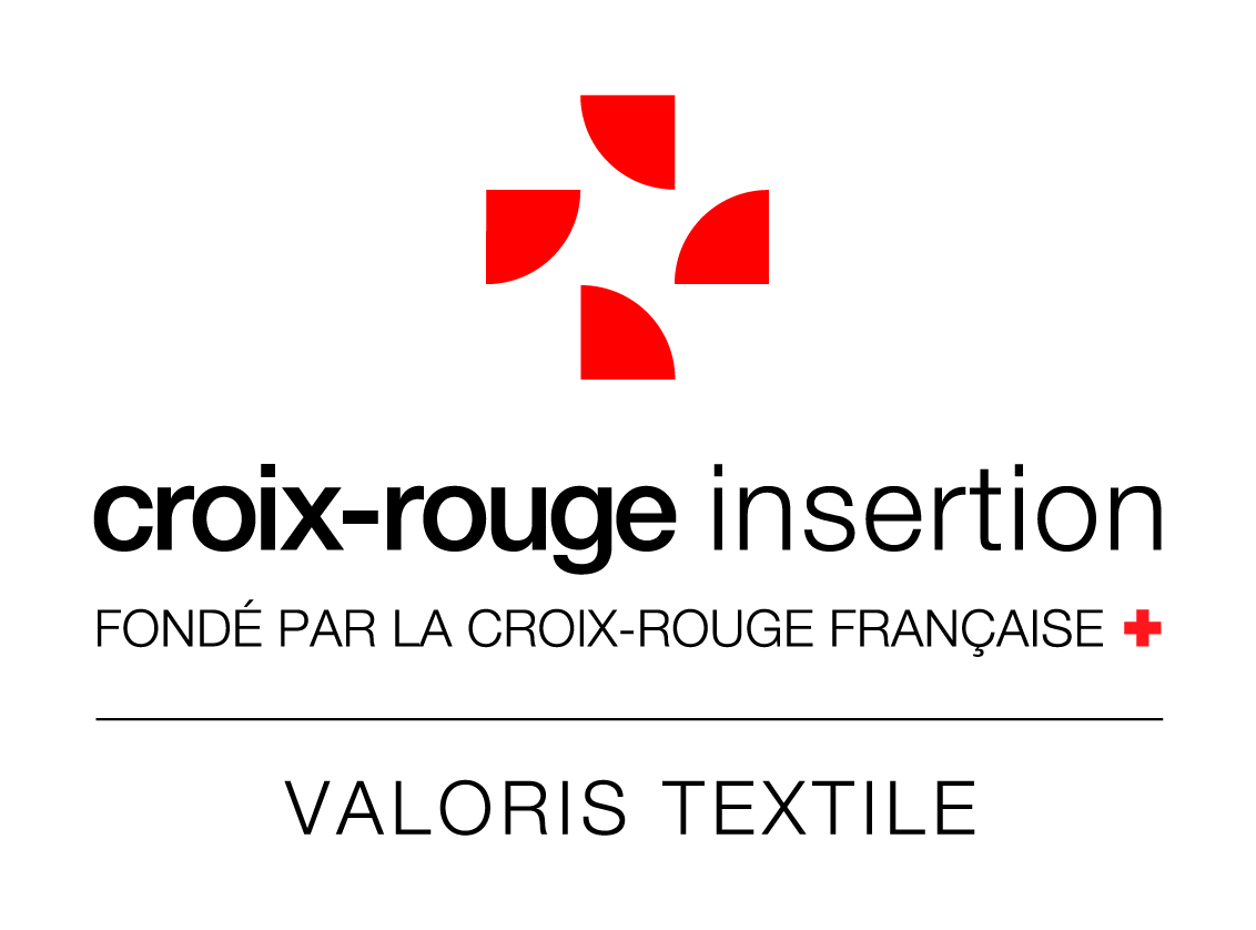 Logo CROIX ROUGE INSERTION VALORIS TEXTILE